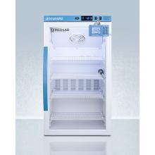 Performance Series Med-lab 3 CU.FT. Counter Height Glass Door All-refrigerator for Laboratory Storage With Factory-installed Data Logger