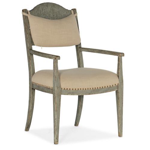 Hooker Furniture - Alfresco Aperto Rush Arm Chair - 2 per carton/price ea