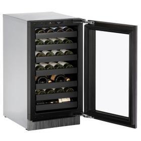 "18"" Wine Refrigerator With Integrated Frame Finish (230 V/50 Hz Volts /50 Hz Hz)"