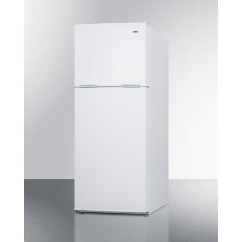 "Energy Star Qualified 24"" Wide 11.5 CU.FT. Frost-free Refrigerator-freezer In White Finish"
