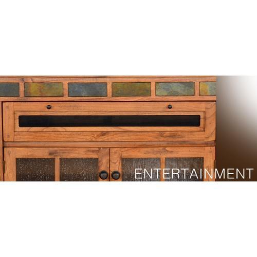 "Sedona 62"" Counter Height TV Console"