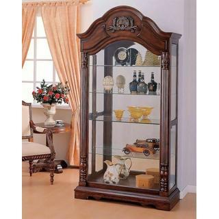 ACME Denton Curio Cabinet - 90054 - Cherry