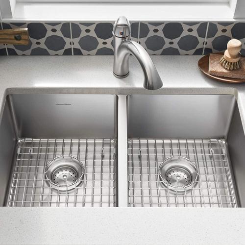 American Standard - Pekoe 29x18 Double Bowl Kitchen Sink  American Standard - Stainless Steel