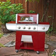 See Details - Cuisinart Deluxe Four Burner Gas Grill - Dual Fuel Valves