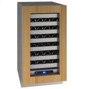 """Hwc518 18"""" Wine Refrigerator With Integrated Frame Finish and Field Reversible Door Swing (115 V/60 Hz Volts /60 Hz Hz)"""