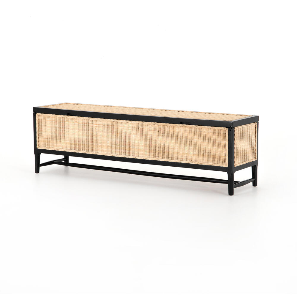 Leanna Trunk-warm Wheat Rattan