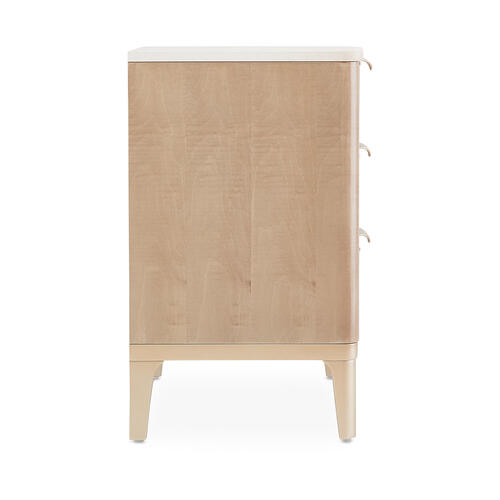 Accent Cabinet-night Stand-end Table 3 Drawer