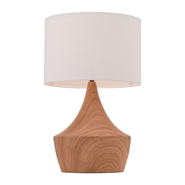 See Details - Kelly Table Lamp White & Brown