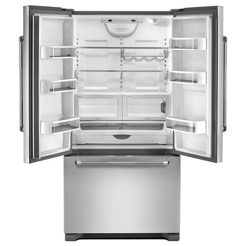 "72"" Counter Depth French Door Refrigerator Pro Style Stainless"