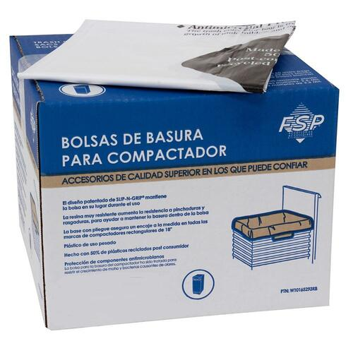 "60PK-PLASTIC COMP BAGS, 18"" MODELS"