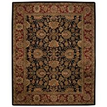 Regal-Persian Black Hand Tufted Rugs