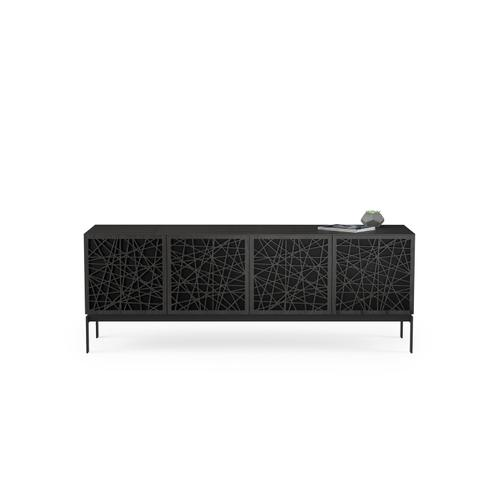 BDI Furniture - Elements 8779 Console Storage Console in Ricochet Doors Charcoal Stained Ash