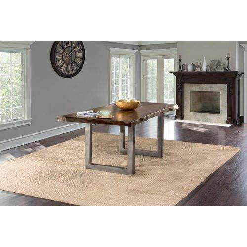 Product Image - Emerson Rectangle Dining Table - Gray Sheesham