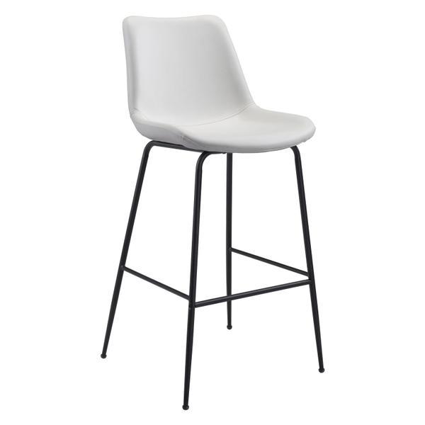See Details - Byron Bar Chair White