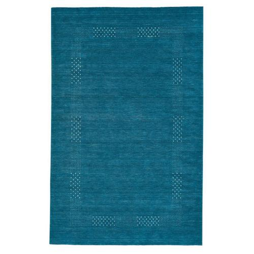 Simply Gabbeh Turquoise - Rectangle - 3' x 5'