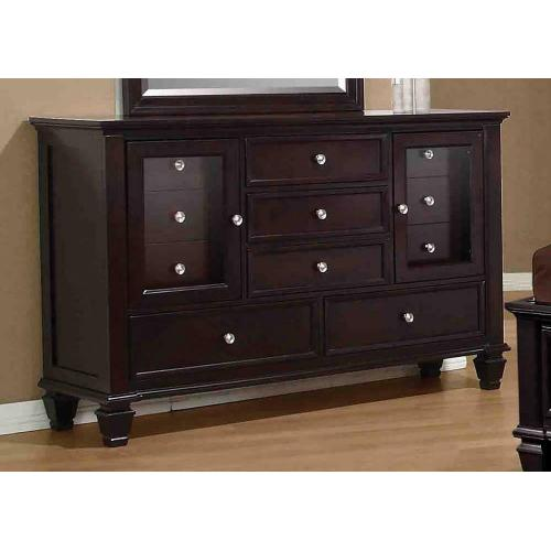 Product Image - Sandy Beach Cappuccino Eleven-drawer Dresser