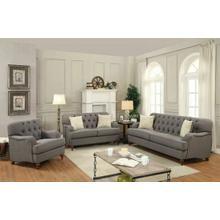ACME Alianza Sofa w/2 Pillows - 53690 - Dark Gray Fabric