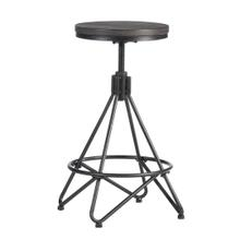 Stella Metal Backless Adjustable Stool