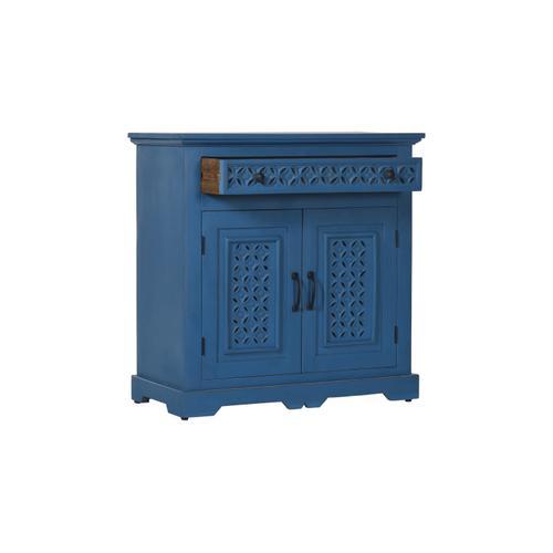 "Decker 32"" Console-blue"