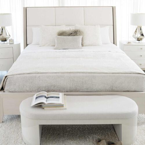 Gallery - Axiom Oval Nightstand in Linear White (381)