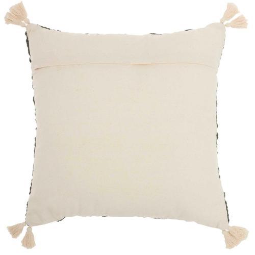 "Life Styles St443 Grey 18"" X 18"" Throw Pillow"