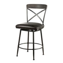 See Details - Decker Commercial Grade Swivel Counter Height Stool