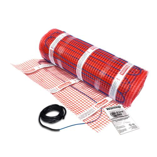 Warmup Under Floor Mat Heater, 120V, 840W, 7.0 amps, Covers 60 sq ft of heated area