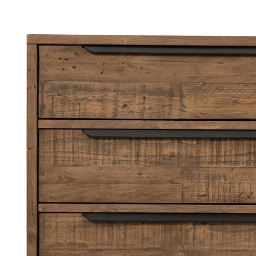 Four Hands - Rustic Sandalwood Finish Wyeth 6 Drawer Dresser