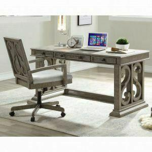 ACME Artesia Executive Desk - 92318 - Salvaged Natural