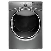 7.4 cu.ft Front Load Electric Dryer with Advanced Moisture Sensing, EcoBoost- Open Box