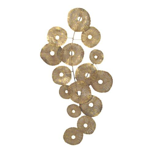 Small Circles Wall Décor Gold
