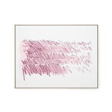 View Product - Agean Diary Framed Silk Panel, Purple