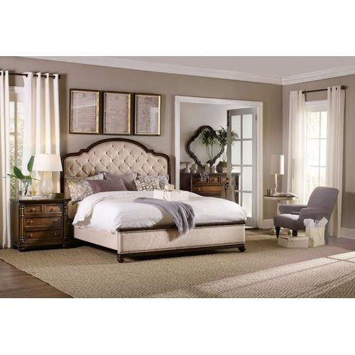 Bedroom Upholstered Footboard 6/0-6/6