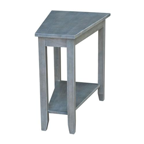 Keystone Accent Table in Heather Gray