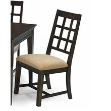 See Details - Side Chairs 2 P/ctn - Walnut Finish