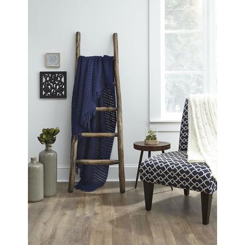 Progressive Furniture - Blanket Ladder - French Roast Finish