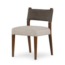 Ferris Dining Chair-nubuck Charcoal
