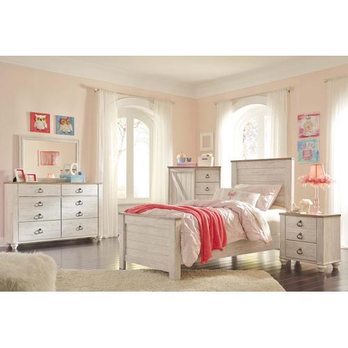 B267 Twin Bed (Willowton)
