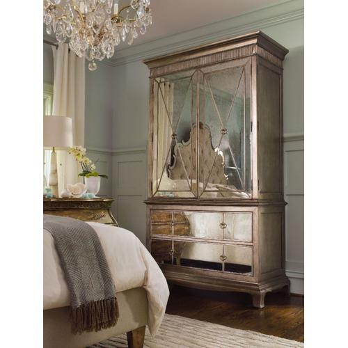 Bedroom Sanctuary Armoire Base - Visage