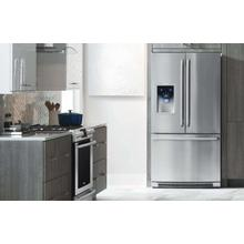 See Details - Counter-Depth French Door Refrigerator with Wave-Touch® Controls