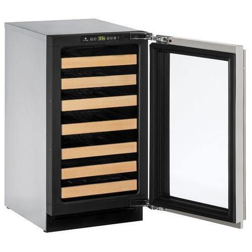 "18"" Wine Refrigerator With Stainless Frame Finish (115 V/60 Hz Volts /60 Hz Hz)"