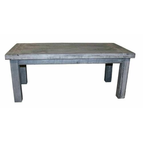Million Dollar Rustic - Charcoal Gray Cocktail Table