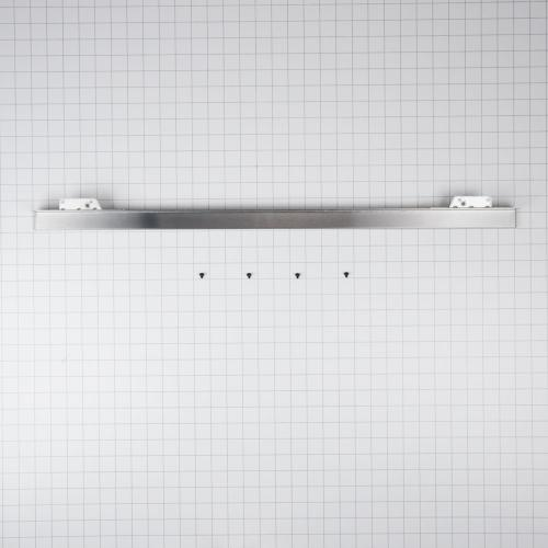 "30"" Warming Drawer Heat Deflector, Black/Stainless Steel"