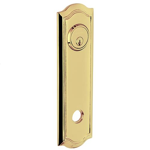 Baldwin - Non-Lacquered Brass R029 Bethpage Rose