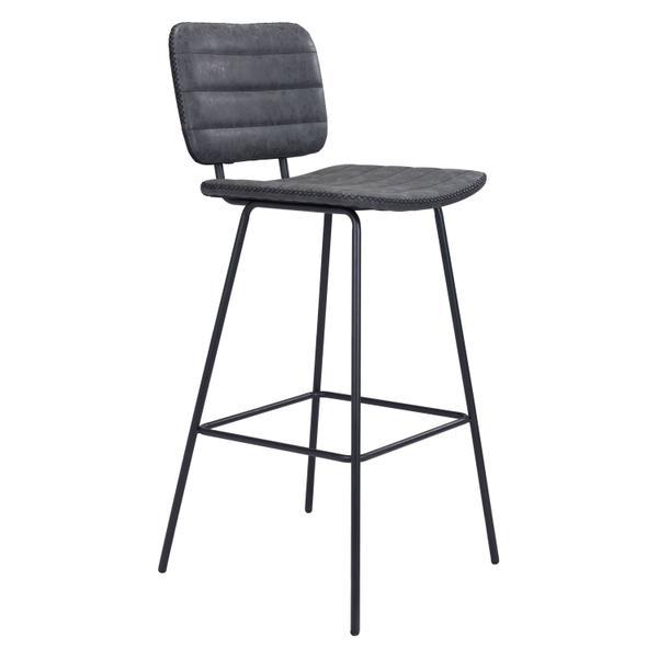 See Details - Boston Bar Chair Vintage Black