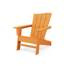 View Product - The Wave Chair Right in Tangerine