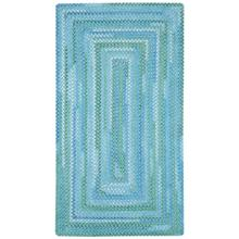 Sailor Boy Deep Blue Sea Braided Rugs