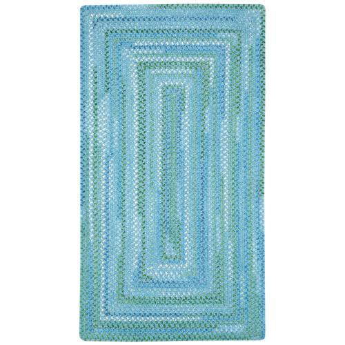 Sailor Boy Deep Blue Sea Braided Rugs