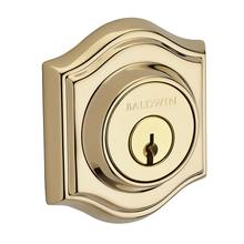 Polished Brass Traditional Arch Reserve Deadbolt