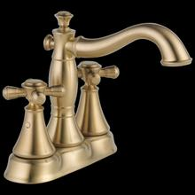 Two Handle Centerset Bathroom Faucet - Less Handles